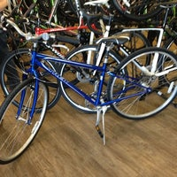 Photo taken at Richardson Bike Mart by Kristen A. on 11/21/2012