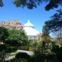Photo taken at Enid A. Haupt Conservatory by Lansing M. on 5/2/2013