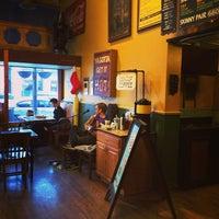 Photo taken at Potbelly Sandwich Shop by Ryan P. on 12/18/2013