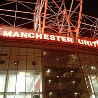 Photo taken at Old Trafford by Lee O. on 2/28/2013