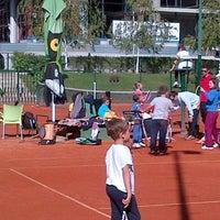 Photo taken at Teniski klub Gazela by Aleksandar K. on 10/12/2013