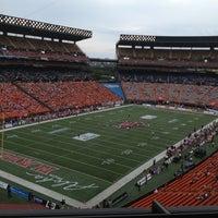 Photo taken at Aloha Stadium by Sarah R. on 12/25/2012