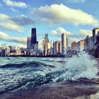 Photo taken at Chicago Lakefront Trail by Maggie H. on 7/24/2013