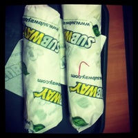 Photo taken at SUBWAY by Alexander L. on 2/16/2013