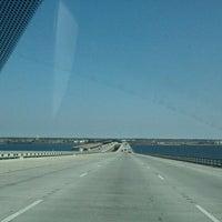 Photo taken at I-10 Twin Span Bridge by Janet M. on 1/22/2013