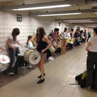 Photo taken at MTA Subway - 14th St/Union Square (L/N/Q/R/4/5/6) by Andrew M. on 10/20/2012