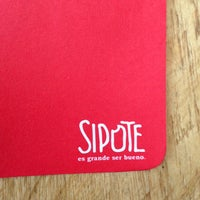 Photo taken at Sipote Burrito by Jaime O. on 7/20/2013