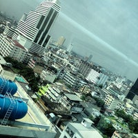 Photo taken at AIG Tower by TanTan T. on 10/30/2013