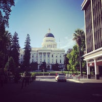 Photo taken at California State Capitol Building by Crystal C. on 10/15/2012