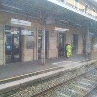 Photo taken at Stazione Chivasso by cewlan on 10/28/2012