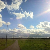 Photo taken at Town Moor by Twins S. on 10/14/2015