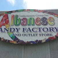 Photo taken at Albanese Confectionery by Dan C. on 5/5/2013