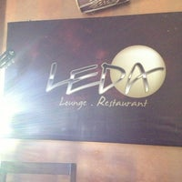 Photo taken at Leda Lounge Restaurant by Angie S. on 8/31/2013