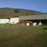 Photo taken at Balneario Elgorriaga by Xabier F. on 12/28/2012