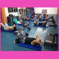 Photo taken at Academia Total Gym by Danubia C. on 3/22/2014