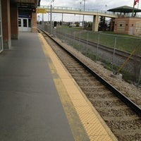 Photo taken at Canyon Meadows (C-Train) by Matthew R. on 5/16/2013