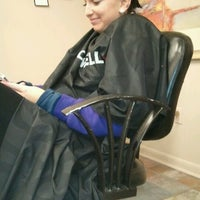 Photo taken at Shear Ego Salon & Spa by Emily H. on 11/28/2012