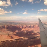 Photo taken at Page Municipal Airport (PGA) by Irma G. on 10/11/2014