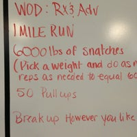 Photo taken at Crossfit Of Greensboro by Laura G. on 6/11/2013