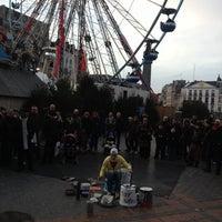 Photo taken at Le Furet du Nord by David D. on 12/15/2012
