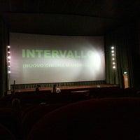 Photo taken at Nuovo Cinema Mandrioli by Giulia B. on 1/11/2013