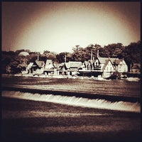 Photo taken at Boathouse Row by Leigh Ann S. on 9/23/2012