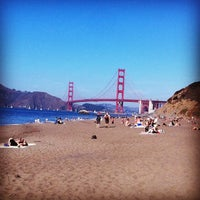 Photo taken at Baker Beach by sonyka on 10/23/2011