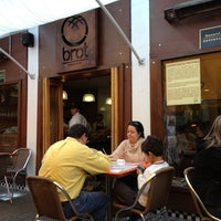 Photo taken at Brot Bakery & Cafe by Andrés M. on 10/20/2012