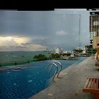 Photo taken at Sea Me Spring Hotel by Boonyarak T. on 8/11/2013
