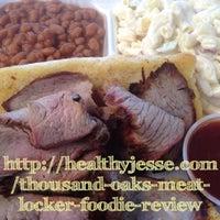Photo taken at Thousand Oaks Meat Locker by Jesse W. on 7/8/2013