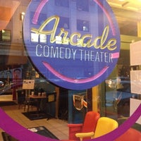 Photo taken at Arcade Comedy Theater by Aaron K. on 10/15/2013