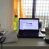 Photo taken at Petaling Indah Condominium by Mohd Hamidi S. on 4/4/2015