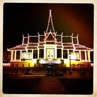 Photo taken at Royal Palace, Phnom Penh by Olivier B. on 12/24/2012
