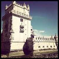 Photo taken at Belém Tower by Yen Lun C. on 7/5/2013