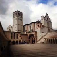 Photo taken at Basilica di San Francesco by Monique-Jontae L. on 10/29/2012