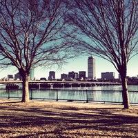 Photo taken at Harvard Bridge by SiNwYrM on 1/24/2013