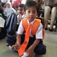 Photo taken at Sekolah Kebangsaan Bandar Setia Alam by aYANg j. on 12/30/2012