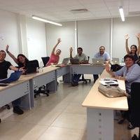 Photo taken at Tecnológico de Monterrey Sede Cancún by Ulises R. on 10/22/2013