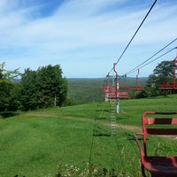 Photo taken at Indianhead Mountain Resort by Kait B. on 9/14/2013