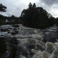 Photo taken at Falls Of Dochart by Yeon J. on 8/5/2015