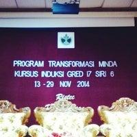 Photo taken at Pusat Latihan RISDA (RISTEC) by Zaimie Z. on 11/22/2014
