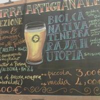 Photo taken at Birrificio Vecchia Orsa by Viviano F. on 1/30/2014