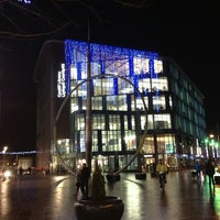 Photo taken at Cardiff Central Library by Jeffrey B. on 12/20/2012