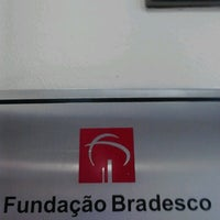 Photo taken at Fundação Bradesco by Maai M. on 12/12/2012