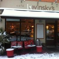 Photo taken at Café Levinsky's by Pernilla E. on 12/19/2012