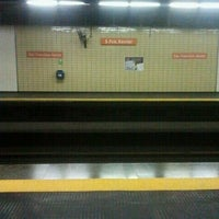 Photo taken at MetrôRio - Estação São Francisco Xavier by Elmer D. on 11/29/2012