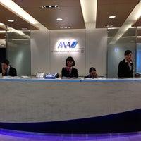 Photo taken at ANA Lounge - Main Bldg. North by atsuship on 1/27/2013