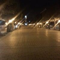 Photo taken at Avenue Habib Bourguiba by Amina Y. on 2/28/2013