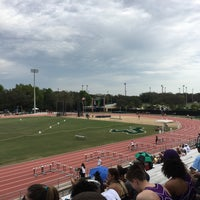 Photo taken at USF Track and Field Complex by Sarah S. on 3/18/2016