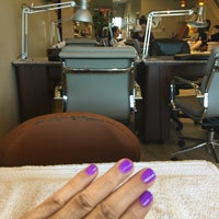 Photo taken at Nails For Her by Duyen F. on 3/18/2016